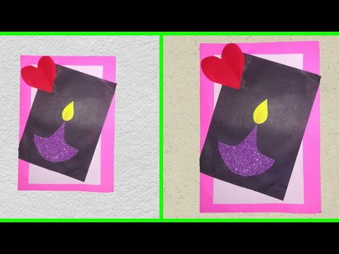 DIY Teacher's Day card |Handmade Teachers day card making idea