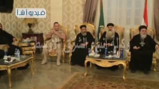 بالفيديو محافظ المنيا يستقبل المهنئين بعيد الأضحىXV`