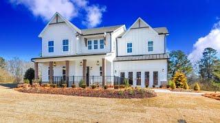 INSIDE A NEW 5 BDRM TOLL BROTHERS MODEL HOME N. OF ATLANTA