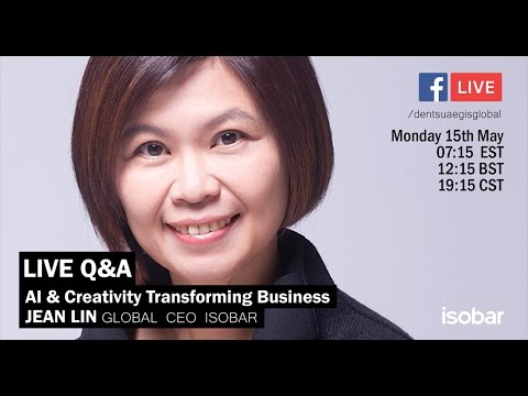#DANLive Q&A: AI & Creativity Transforming Business with Isobar