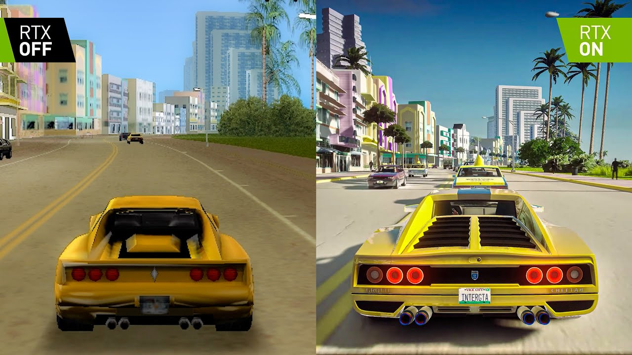 GTA: Vice City 2002 vs 2021 REMASTERED - 4k 60fps GTA 6: Vice City 2 Concept [GTA 5 PC Mod]