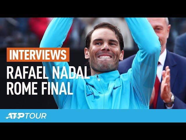 Nadal On Rome Title: 'It's Unbelievable'