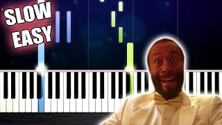 Bobby McFerrin - Don't Worry Be Happy - SLOW EASY Piano Tutorial by PlutaX