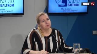 """Председатель совета латвийского бизнес-союза Элина Эгле в программе """"Деловая среда""""#MIXTV"""
