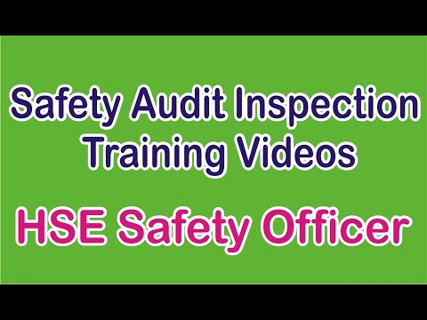 Safety Audit Training for Safety officer