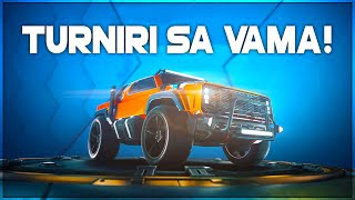 TURNIRI U ROCKET LEAGUE SA VAMA!! + NAGRADE