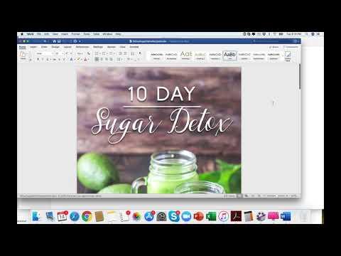 Done for you 10 day sugar detox for health coaches by IIN Grad, Rachel Feldman thumbnail