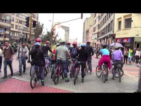 Bogota bike tour subtitulada