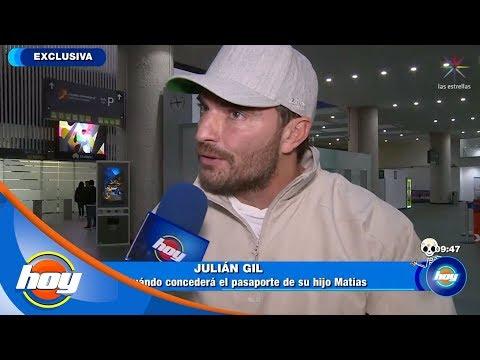 Julián Gil condiciona pasaporte de Matías | Hoy