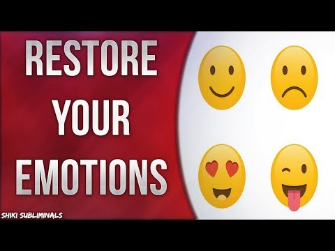 Restore Your Emotions - Emotion Renewal // Emotional Refreshment | Subliminal