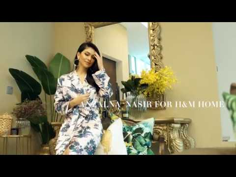Anzalna Nasir For H&M Home BTS