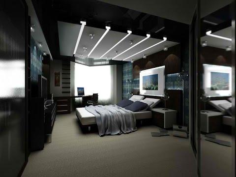 interior design ideas mens bedroom - youtube