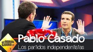 Casado sobre ilegalizar los partidos independentistas - El Hormiguero 3.0
