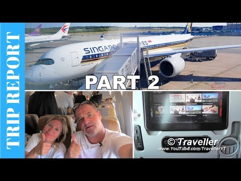 Tripreport - Onboard a Singapore Airlines A350 from Singapore to Stockholm & Moscow Airport Tour
