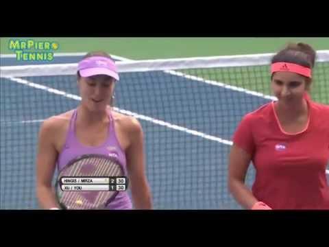 20150926 Martina Hingis/Sania Mirza vs Shilin Xu/Xiaodi You Highlights