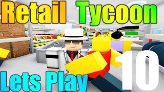 [ROBLOX: Retail Tycoon] - Lets Play Ep 10 - NEW ITEMS (Candy, Books, Clothing!)