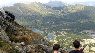 KOŚCIELEC - Czarny szlak na szczyt bardzo trudny i niebezpieczny 18.08.2012 Tatry