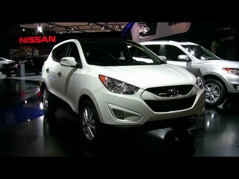 2012 Hyundai Tucson Limited AWD Exterior And Interior At 2012 Montreal Auto Show