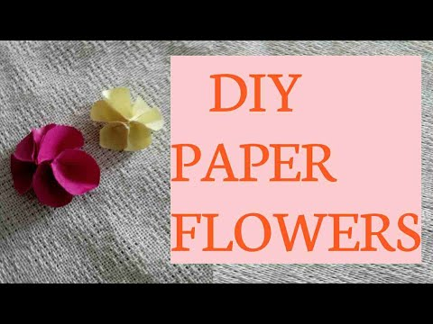 Diy Paper Flowers | Episode # 12 | Creative Ideas By Beemo