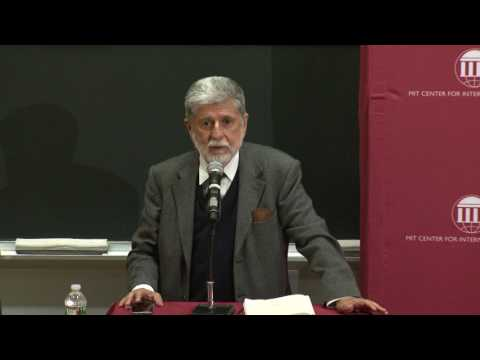 Starr Forum: Acting Globally: Memoirs of Brazil's Assertive Foreign Policy
