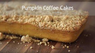 Pumpkin Coffee Cakes | Byron Talbott