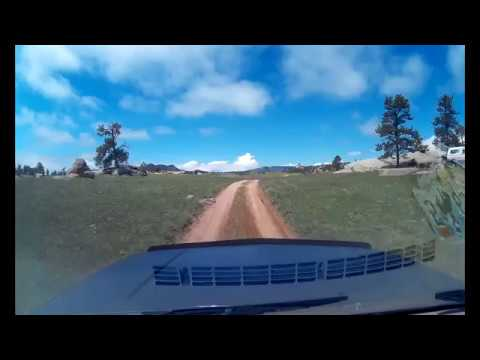 Forest Service Road 708, WY to 3rd Street Laramie, WY - Sunday 20th May 2018