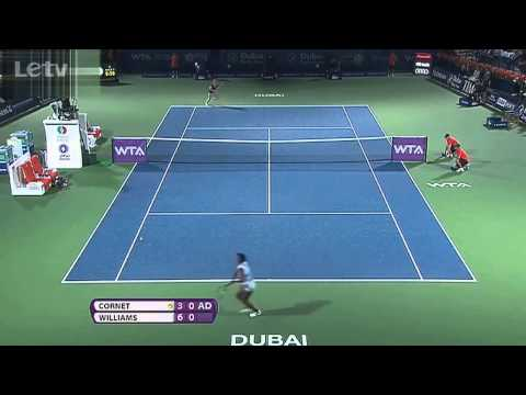 Alize Cornet vs. Venus Williams | Full Highlights | Dubai Tennis Championships 2014(Final)