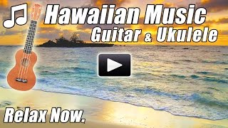 HAWAIIAN MUSIC Relaxing Acoustic Guitar Ukulele Instrumental Relax Hawaii Songs Folk Tropical Study