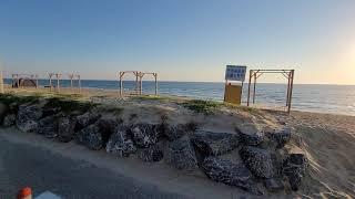 주문진 해변 차박 스타일 캠핑카 카라반 루프탑 ⛺ 주말…