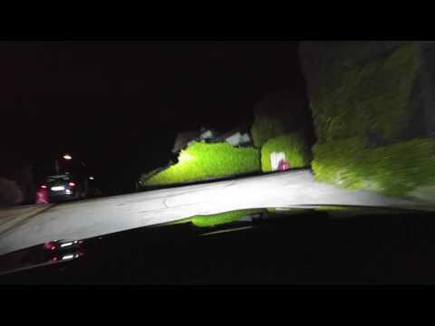 Fari Xeno Simoni Racing prova notturna