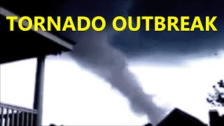 tornadoes caught on tape tornado outbreak springfield ma