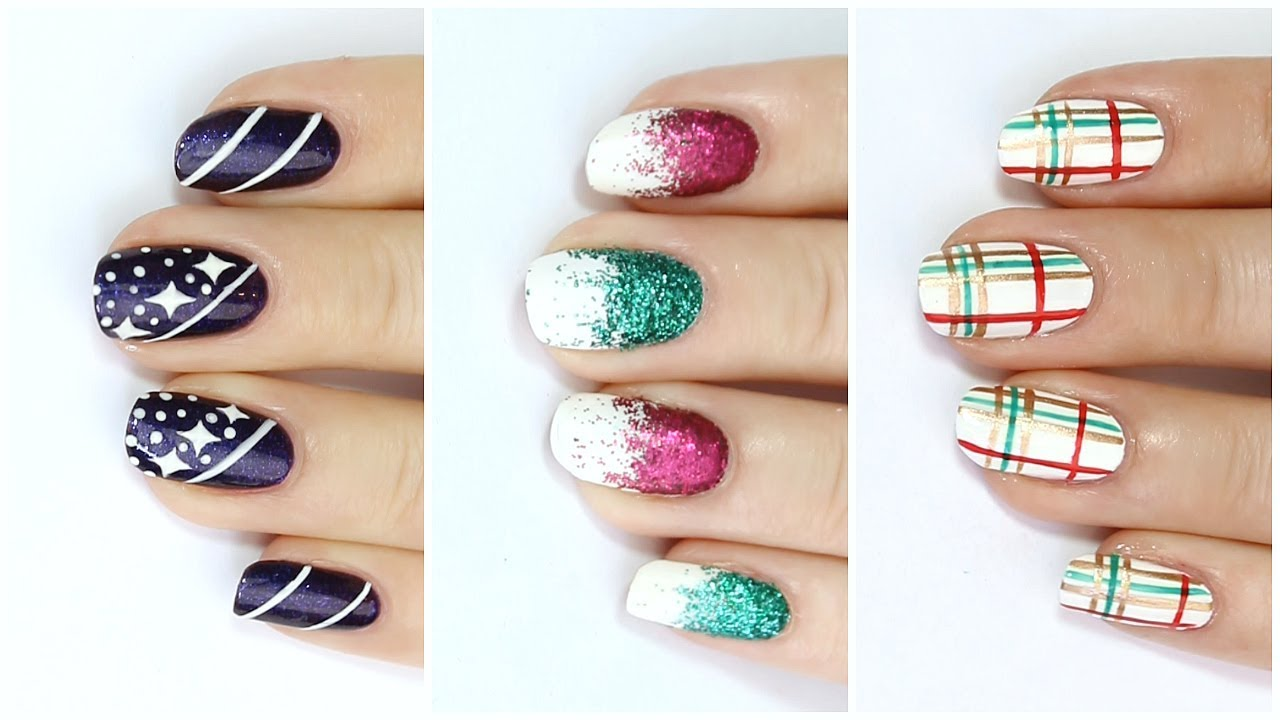 Diy quick easy festive nail art ideas for christmas 2 25 diys diy quick easy festive nail art ideas for christmas 2 25 diys of christmas day 10 prinsesfo Images