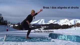 Yoga avec Nitro Snowboards et Claire Doulet