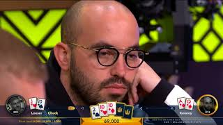 NEW TRITON POKER 2018 Super High Roller Series Montenegro | HK$1 Million Main Event, Day 2 | Part 1