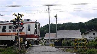 会津鉄道線踏切6