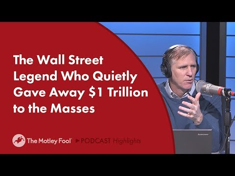 The Wall Street Legend Who Quietly Gave Away $1 Trillion to the Masses