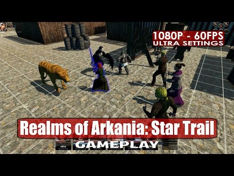 Realms of Arkania: Star Trail gameplay PC HD [1080p/60fps]