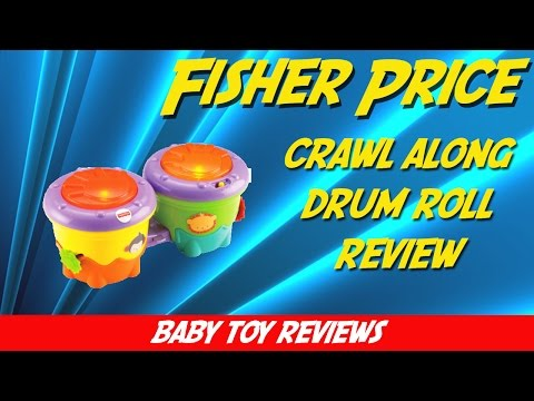 Fisher Price Crawl Along Drum Roll Review