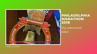 Philadelphia Marathon 2018 | Vlog & Recap