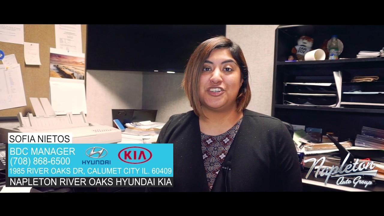 sofia Nietos at Napleton River Oaks Hyundai Kia - YouTube