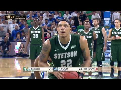 Stetson Basketball Atlantic Sun Tournament Run