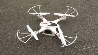 Flying my DBPower MJX X400W FPV RC X-Series Camera Drone!