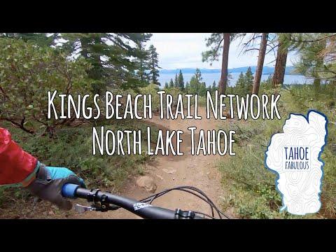 Kings Beach Trail Network, North Lake Tahoe, California