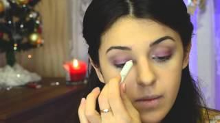 видео Вечерний макияж - как сделать самостоятельно