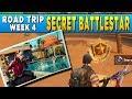 Fortnite Secret Battlestar Road Trip Challenge Week 4 - Secret Loading Screen Battle star Location