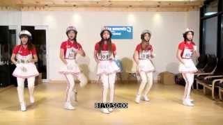 Crayon Pop 'bar Bar Bar' Mirrored Dance Practice