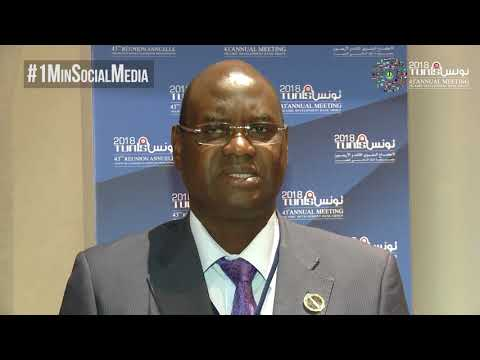 (CC) #1MinSocialMedia - Mr. Mamadou Fadia Joao, Minister of Economy and Finance of Guinea-Bissau