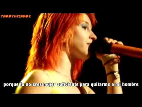 Paramore You ain't woman enough subtítulos español