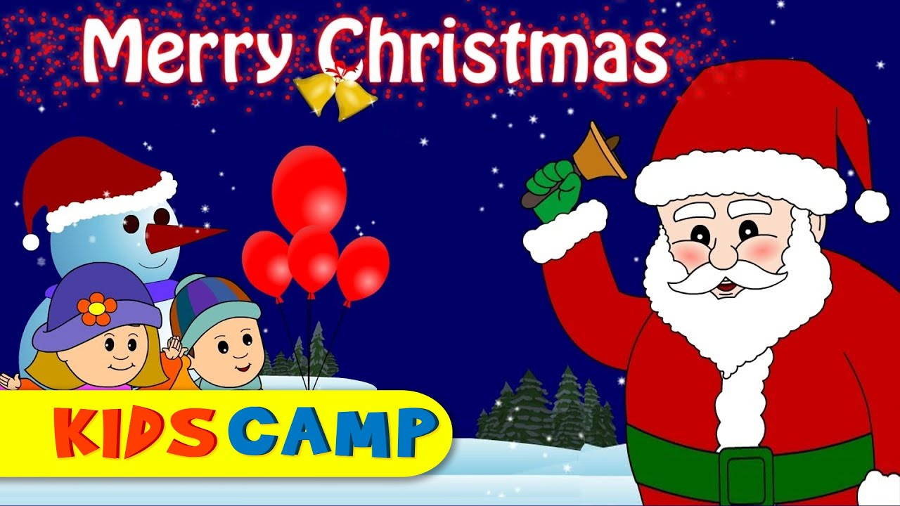 We Wish you a Merry Christmas | Christmas Songs By KidsCamp - YouTube