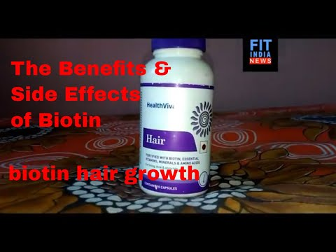 all about biotin hair & nail supplement I HealthViva Hair with Biotin